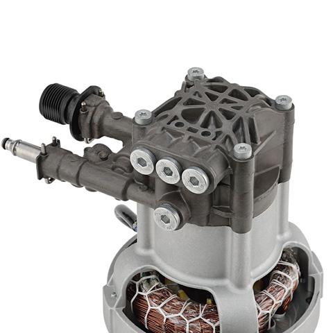 Bomba de presión de aluminio