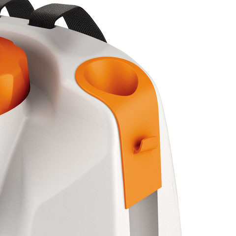 Soporte integrado para tubo de rociado
