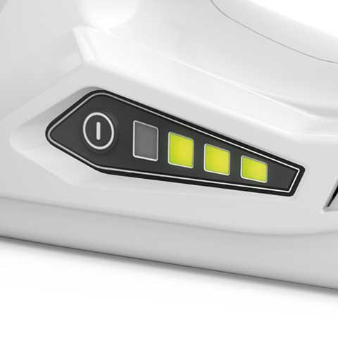 LED's indicadores de carga